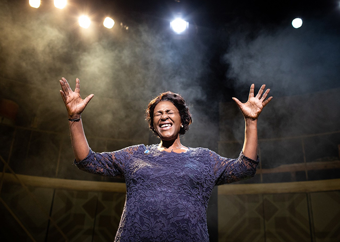 Sharon D. Clarke in Caroline Or Change, Playhouse Theatre [Credit Helen Maybanks]