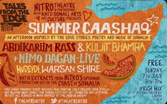 Summer Caashaq – A Summer's Afternoon of Love Themed Music, Poetry and Stories