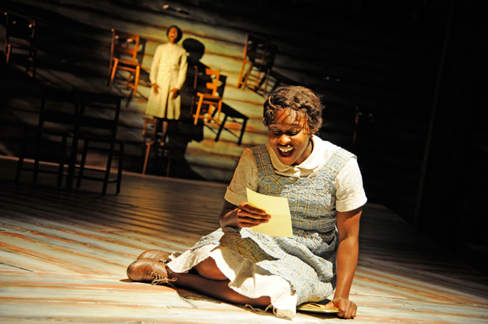 Cynthia Erivo, The Color Purple the Musical [image by Nobby Clark]