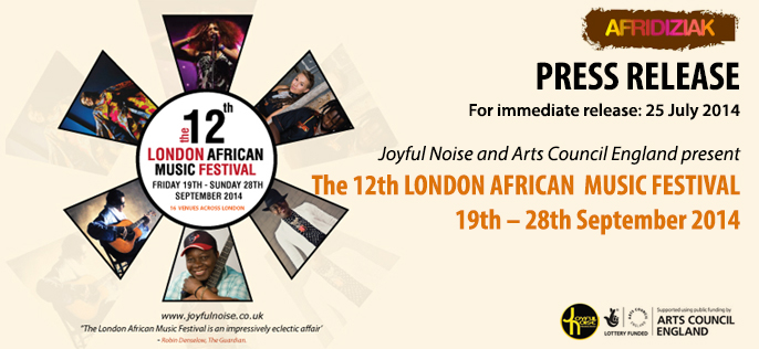 12th London African Music Festival