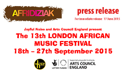 13th London African Music Festival