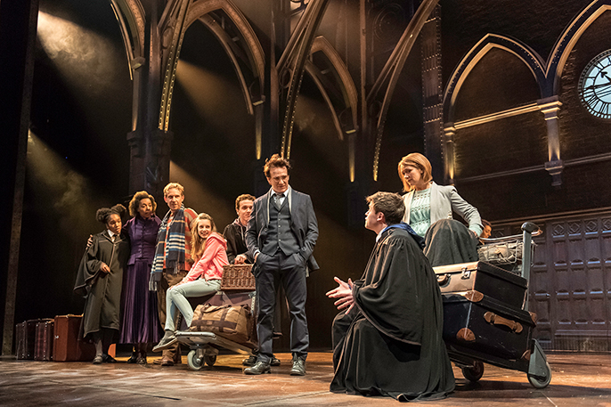 The Cast of Harry Potter and the Cursed Child (c) Manuel Harlan