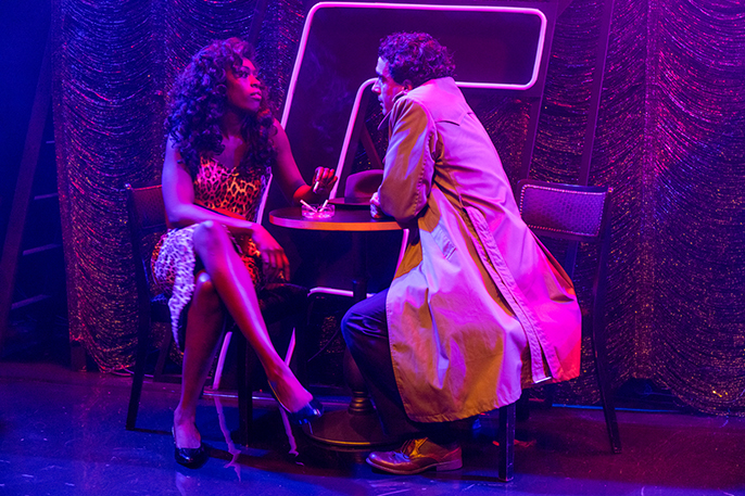 The Stripper - Gloria Onitiri as Deadpan Dolores and Sebastien Torkia as Al Wheeler, David Freeman