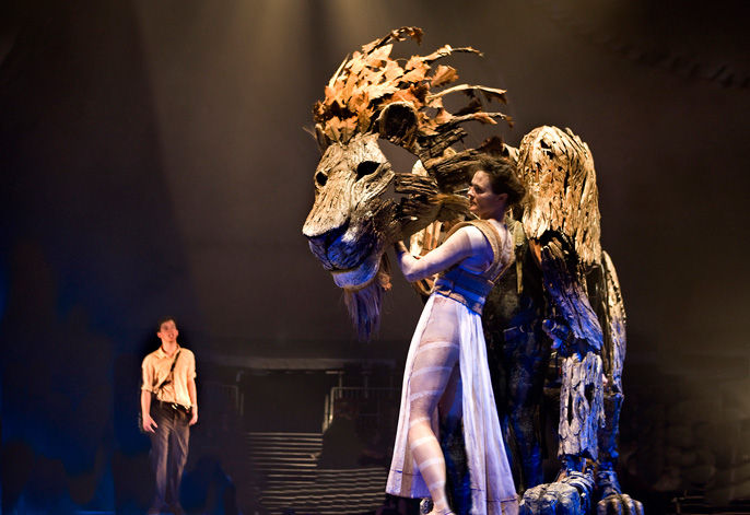 Lion, the Witch and the Wardrobe - Jane Leaney (Aslan's Head) Credit Simon Annand