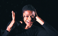 Zena Edwards in Security @ Battersea Arts Centre