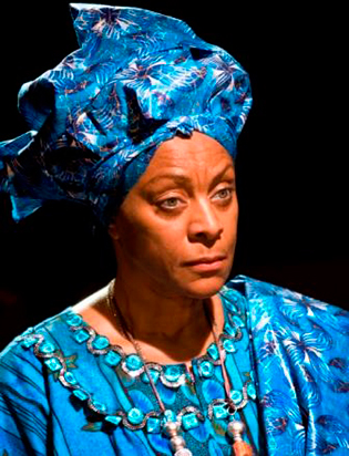 Dona Croll as Winnie Mandela in the Archbishop and the Antichrist