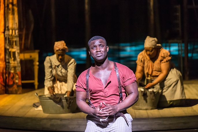Emmanuel Kojo (Joe) in Show Boat. Photo credit Johan Persson