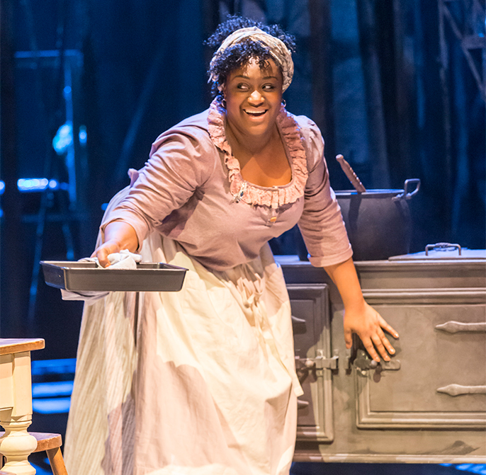 Sandra Marvin (Queenie) in Show Boat. Photo credit Johan Persson