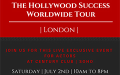 The Hollywood Success Worldwide Tour - London  Exclusive Century Private Member's Club in Soho