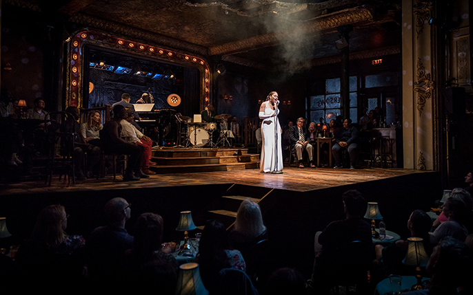 Audra McDonald  in Lady Day at Emerson's Bar & Grill CREDIT Marc Brenner