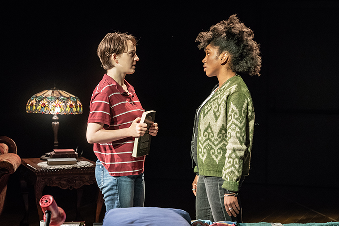 Eleanor Kane and Cherrelle Skeete, Fun Home YV © Marc Brenner