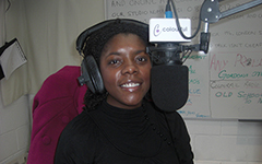 Sophia Jackson reviewing plays at Colourful Radio