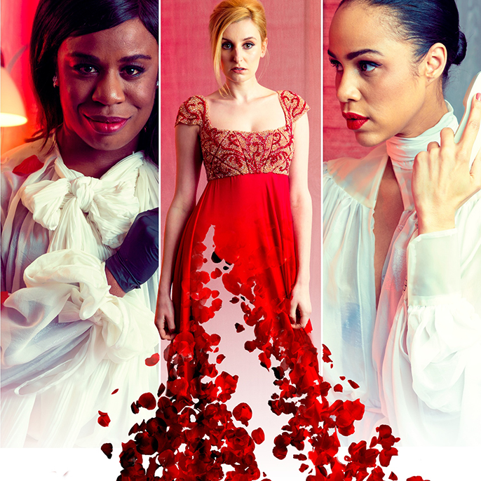 The Maids, Uzo Aduba (Orange is the New Black), Zawe Ashton (Fresh Meat, Not Safe For Work) and Laura Carmichael (Downton Abbey) will star in Jean Genet's masterpiece