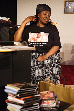 Ellen Thomas in Egusi Soup by Janice Okoh, Soho Theatre