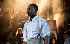 Rolan Bell (Coalhouse Walker) in Ragtime at Regent's Park Open Air Theatre. Photo by Johan Persson