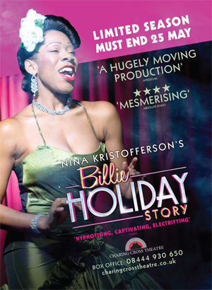 Nina Kristofferson's Billie Holiday Story