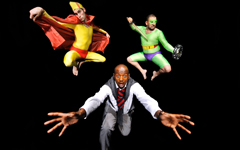 My Father and other Superheroes, Unicorn Theatre