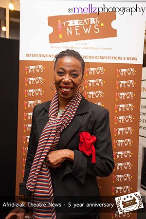 Actor Noma Dumezweni Afridiziak Theatre News 5th Birthday [image by Mellz Photography]