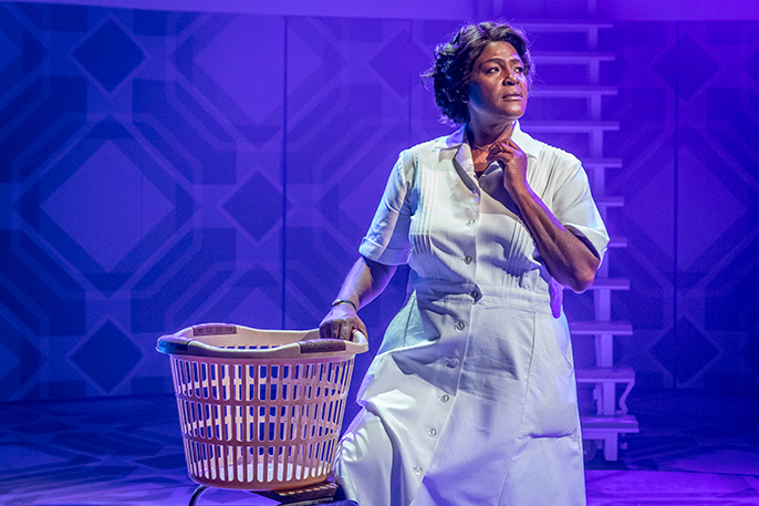 Sharon D. Clarke in Chichester Festival Theatres production of CAROLINE OR CHANGE Photo Marc Brenner