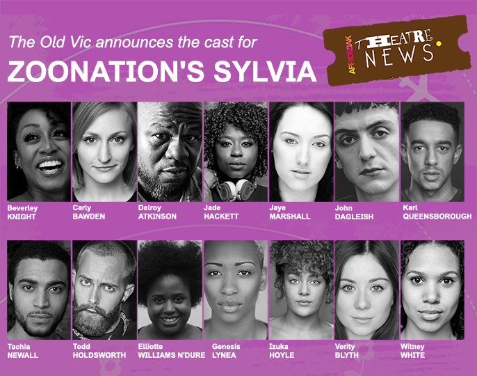 The Old Vic announces the cast for ZooNation's Sylvia