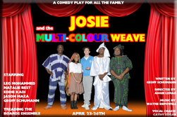 Josie and the Multi-Coloured Weave
