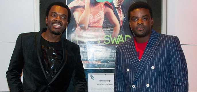 Phone Swap actors Wale Ojo and Kunle Afolayan