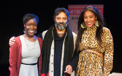 Rachael Nanyonjo, Jatinder Verma, Emma Dennis-Edwards | Photo by Talula Sheppard, The London Hub