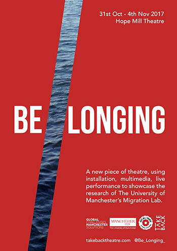 Be//Longing, Hope Mill Theatre