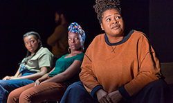 ear for eye by debbie tucker green – review Royal Court Theatre