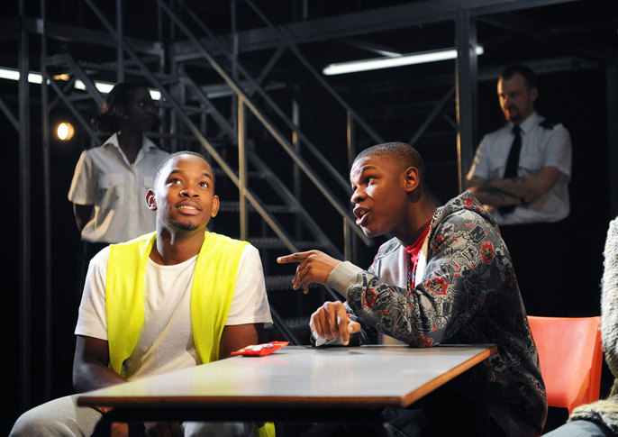 Aml Ameen and John Boyega in Category B