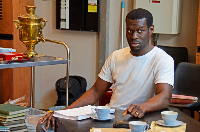 Rehearsal Images - Ansu Kabia (Ricky) - To Sir With Love National Tour - Photo Nobby Clark