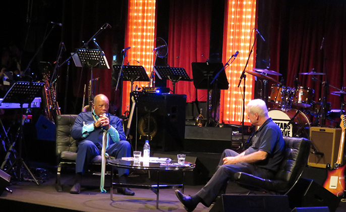 An Audience   with Quincy Jones (c) Anca Niculae