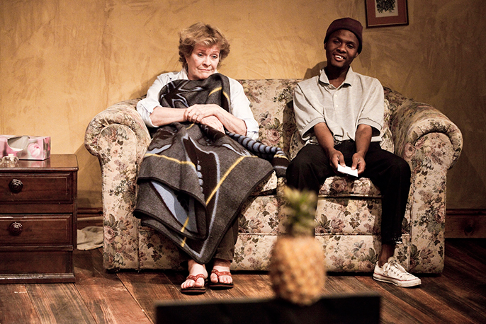 Janet Suzman, Khayalethu Anthony in Lara Foot's Solomon and Marion © Jesse Kramer