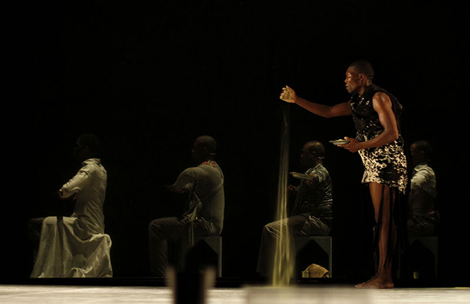 Exit, Exist, Dance Umbrella - Gregory Maqoma photographer John Hogg