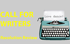 Resolution Review: Calling aspiring dance writers