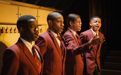 Choir Boy by Tarell Alvin McCraney, Royal Court Theatre, upstairs