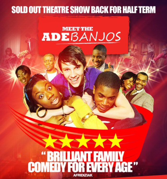 Meet the Adebanjo's at Hackney Empire