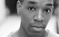 Syrus Lowe, starring in Overspill at the Soho Theatre