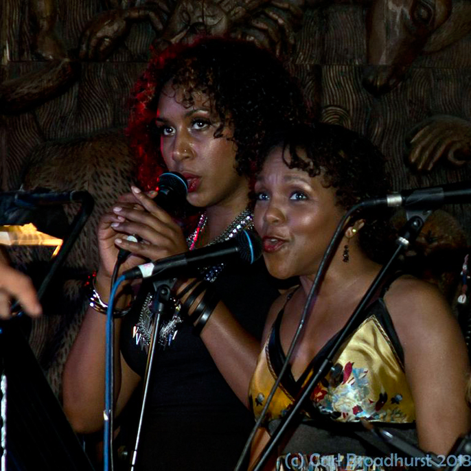 Carleen Anderson (right) (c) Carl Broadhurst ~ CTS Productions