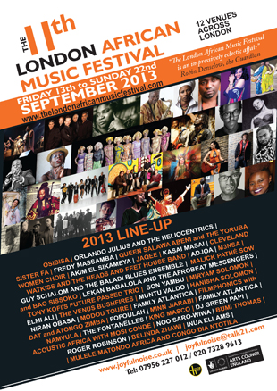 The London African Music Festival