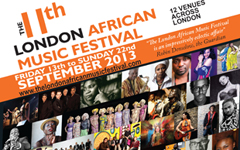 The 11th LONDON AFRICAN MUSIC FESTIVAL