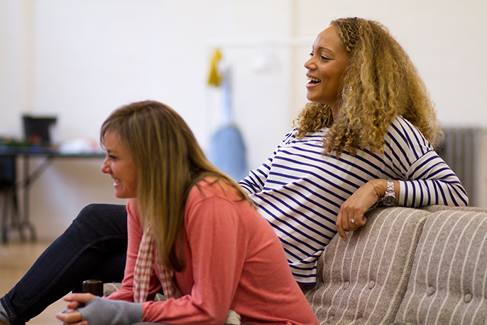 Breeders by Ben Ockrent. Angela Griffin and Tamzin Outhwaite