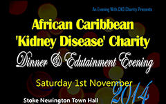 An Evening With CKD Charity Fundraising Dinner & Edutainment