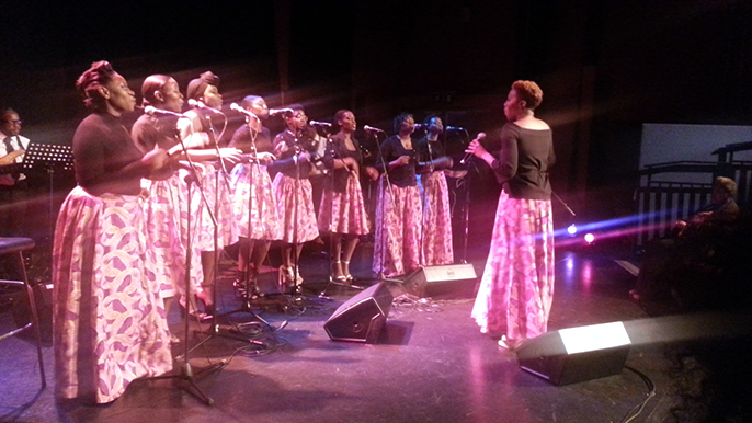 The Reapers Choir, 13th London African Music Festival © Ronke Lawal