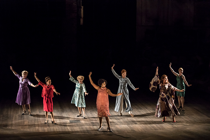 FOLLIES at the National Theatre (c) Johan Persson