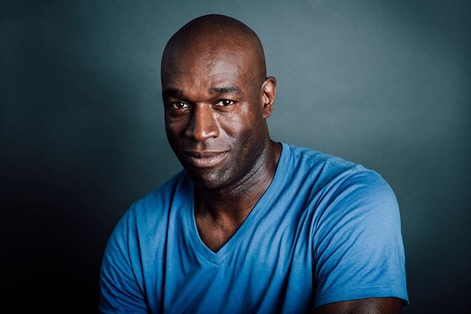 Steve Toussaint ©HelenMurray - Royal Court, Father Comes Home headshot