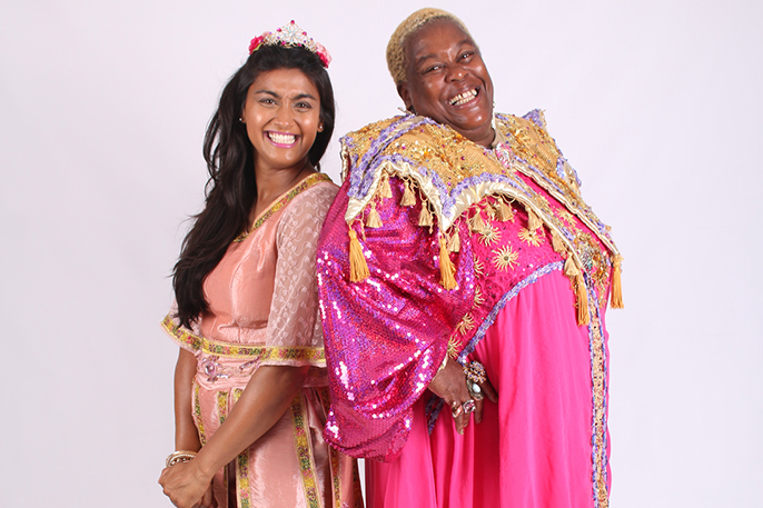 Nisha Anil and Sandra Martin to star in Aladdin in Maidenhead (Q Productions)