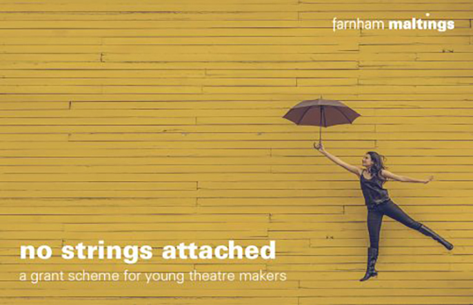 no strings attached grant scheme for young theatre makers