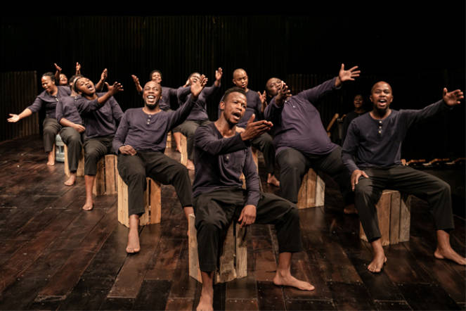 SS Mendi - Dancing the Death Drill, Royal Opera House by The Other Richard