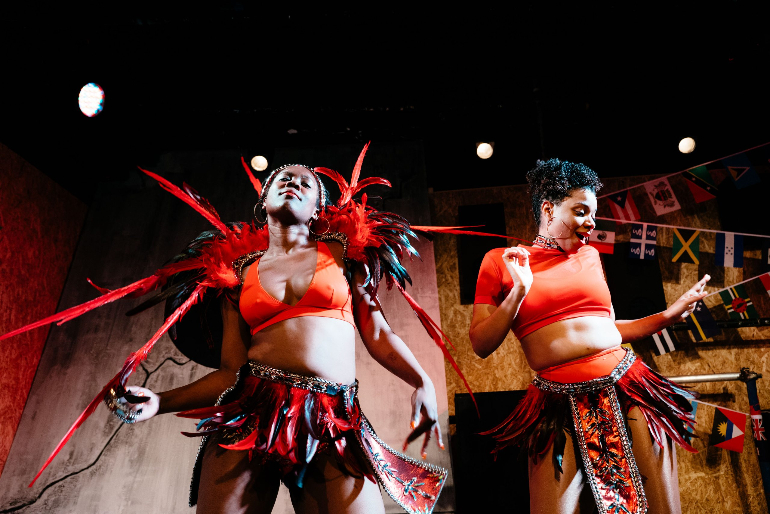 J'Ouvert, Theatre503, Sharla Smith and Sapphire Joy (Credit Helen Murray)